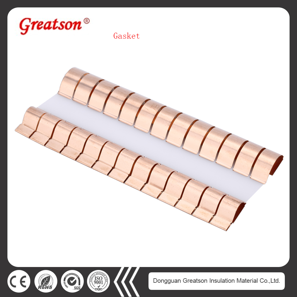 Cheap customized easy to plating and welding soft emi clip gasket