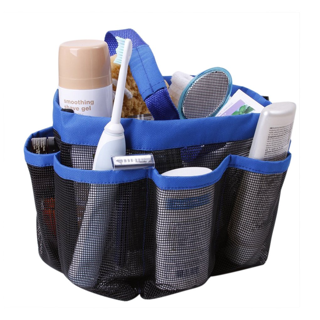 Buy Mesh Shower Caddy Hanging Shower Tote Bag Shower Basket Quick ...