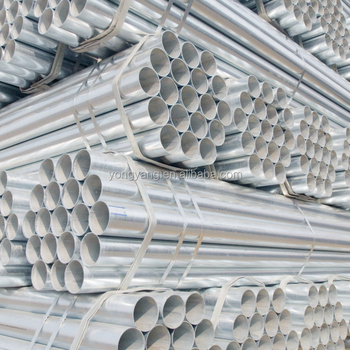 DN15-DN200 hot dip galvanized steel pipe for construction pipes