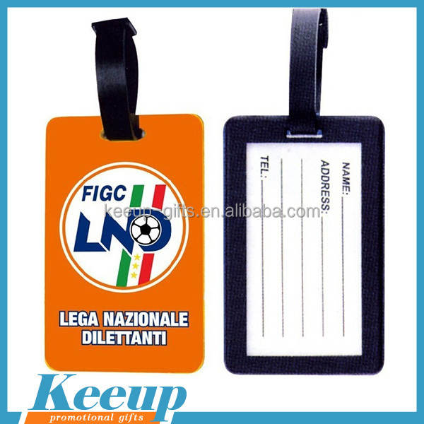 2017 hottest Advertising Products Custom Travel Outdoor Advertising luggage tag