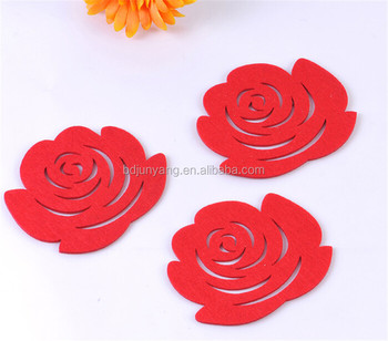 wooden placemats and coasters fabric coaster pattern laser cut felt coaster