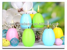 canvas painting,easter candle decoration