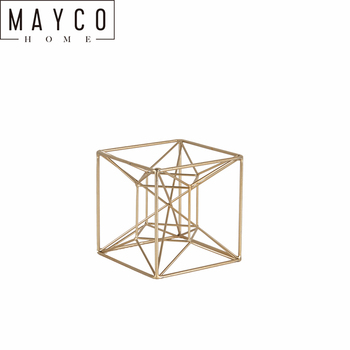 Mayco Golden Modern Metal Home Decoration Sculpture