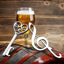 Creative Music Symphony&Key Shaped Beer Bottle Opener Birthday Wedding Gift Decoration