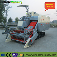 Mini Wheat Rice Soybean Combine Harvester/Hot Pepper Harvesting Machine