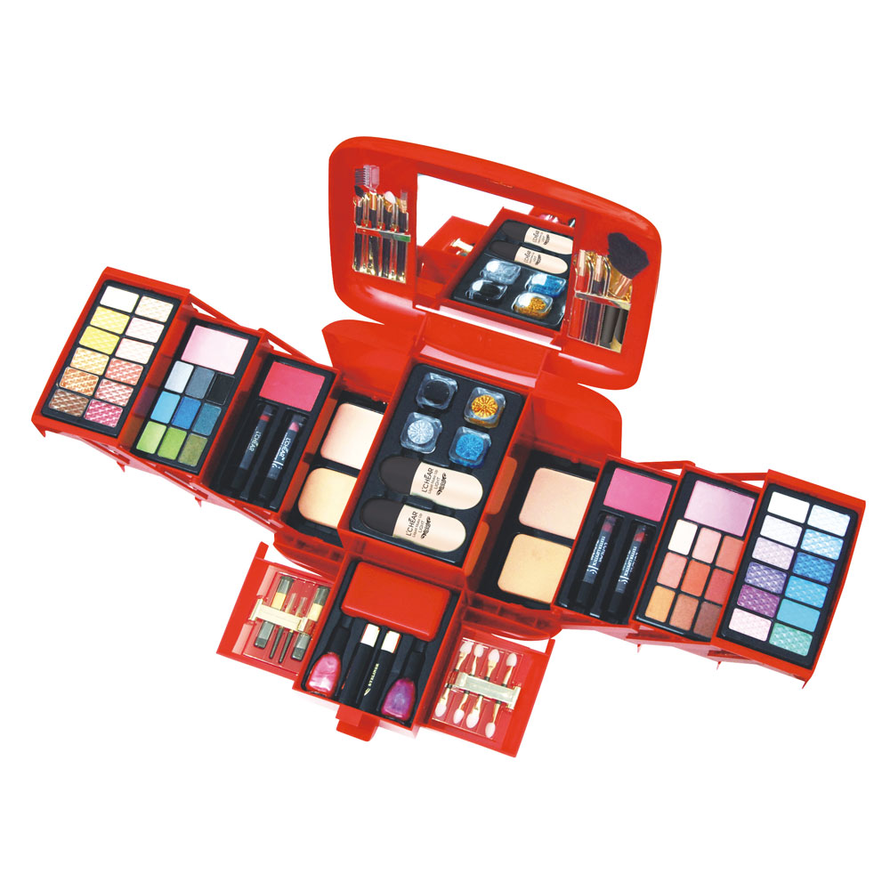 Miss Rose Pro 132 Full Color Eyeshadow Palette Fashion Women Cosmetic Case Full Pro Makeup Palette Concealer Blusher AP3112W