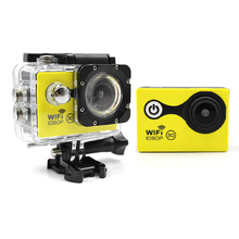 Portable Wifi Action camera Ultra HD 1080p, go waterproof pro Style Mini Camcorders action camera wifi