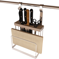 Kitchen Storage & Organization Stainless Steel Knife Holder