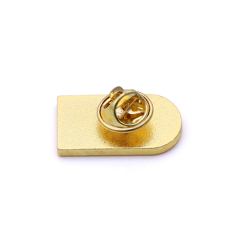 Free design Custom alloy gold metal soft enamel ballet tula roxett sports lapel pin badge