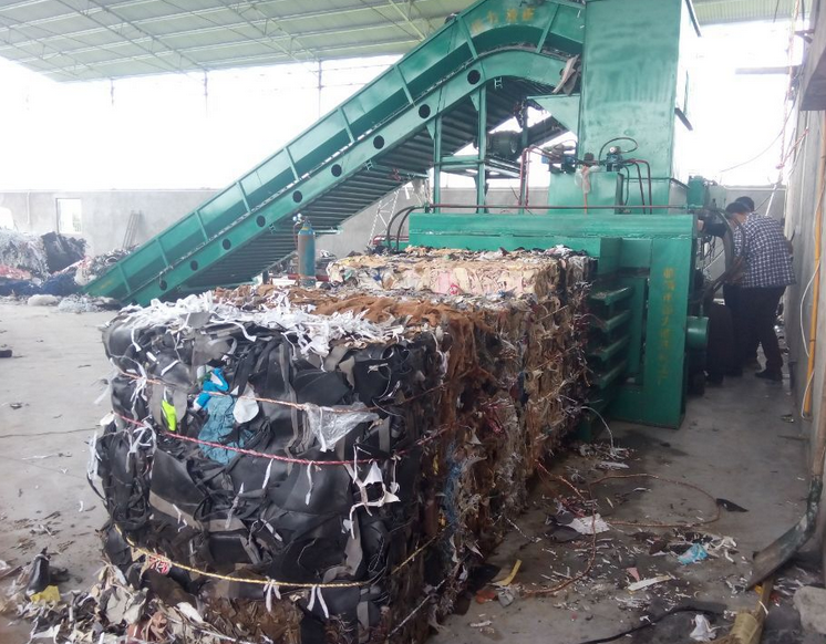 Fully automatic Hydraulic Horizontal used scrap metal Baling Press
