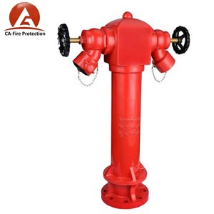 ca fire protection outside DN100 outdoor fire hydrant price list