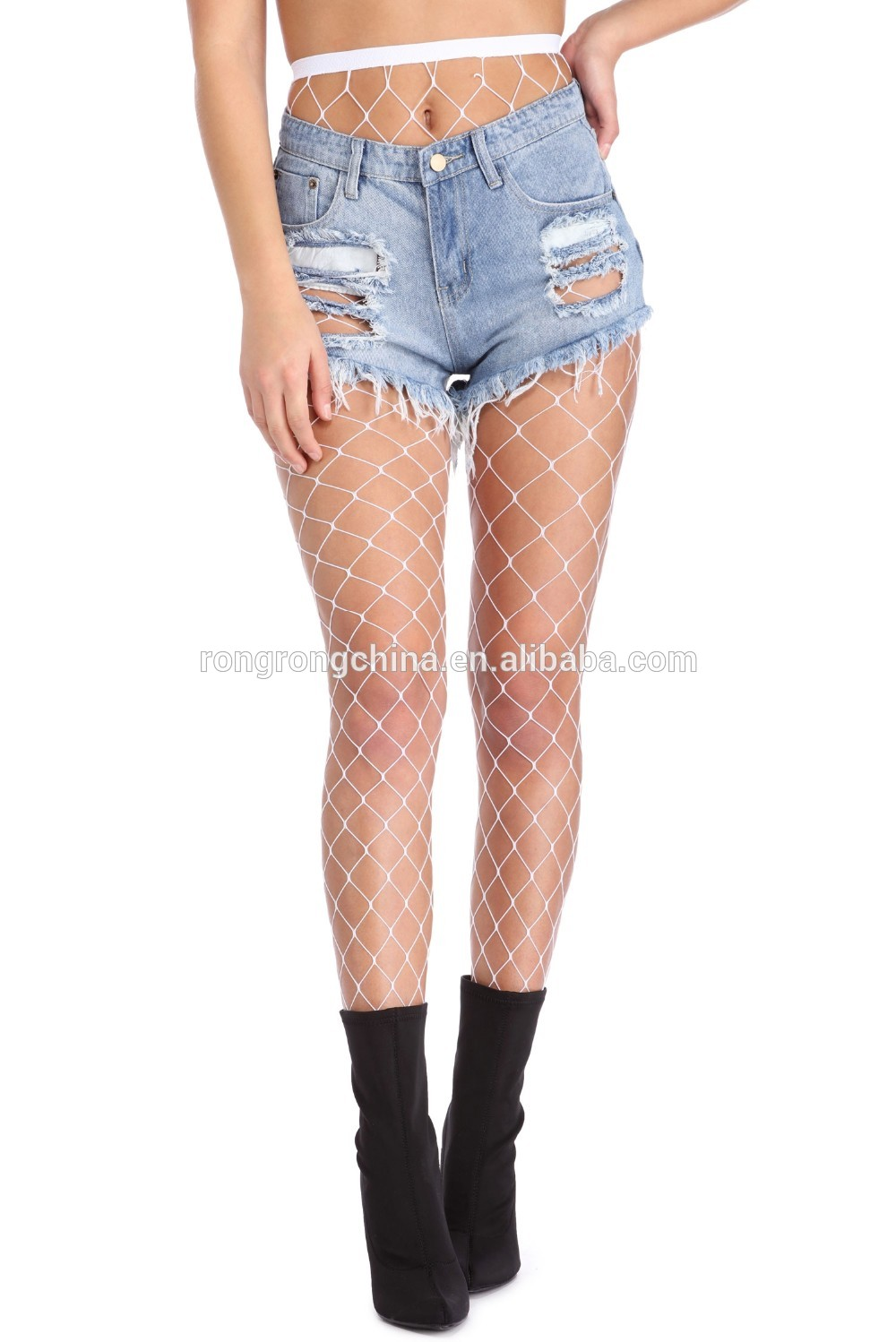 94660c7dc9b6b Hot Selling Cheap Price Fish Net Stockings Fishnet Under Jeans Trend ...
