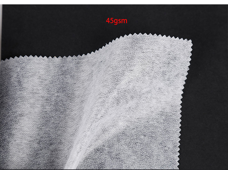 PA / PES double-dot non woven fusible interlining for clothing