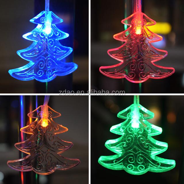 Netzlicht Schnur Feen Weihnachten Gartenparty Baum Außenbereich Lampe LED Dekor