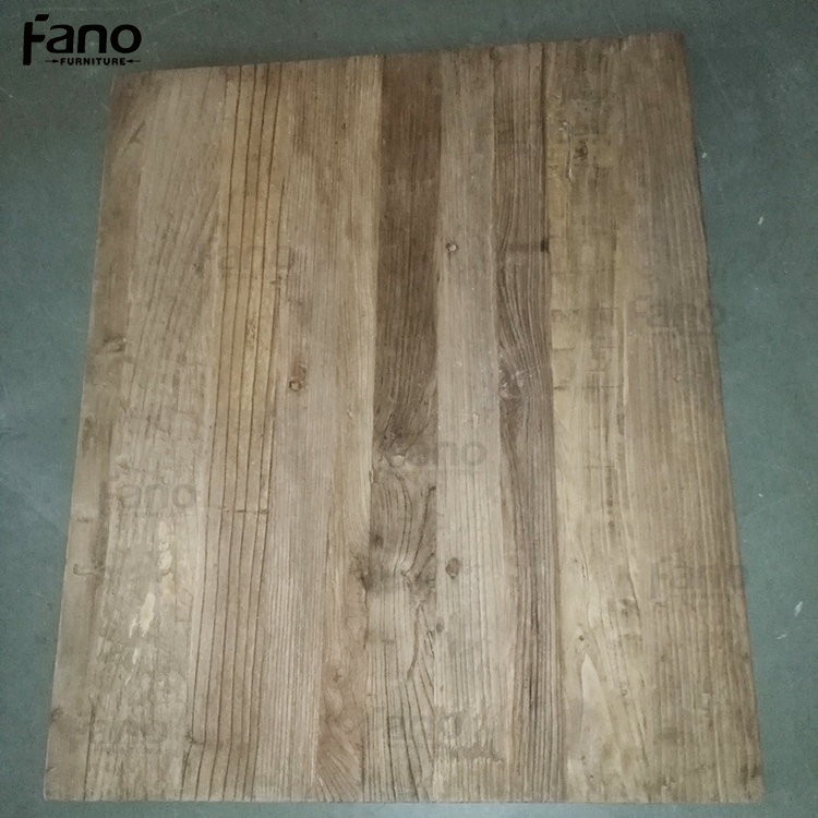 wholesale reclaimed wood unfinished cafe table tops