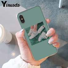 Yinuoda эстетический отличный арт sad pretty girl eyes чехол для телефона для iPhone6S 6plus 7 7plus 8 8 plus X XsMAX 5 5S XR 11 11pro 11promax(Китай)