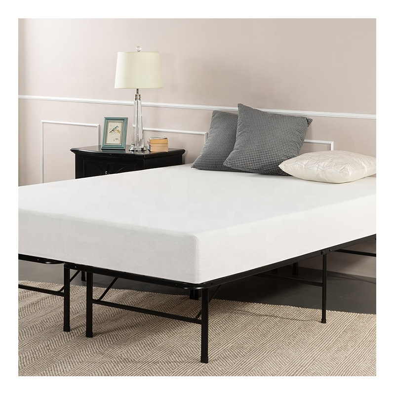 CertiPUR-ONS 10 Inch Visco-elastische Twin Queen King Size Gebreide Stof Bed Gel Memory Foam Spons Matras in een doos