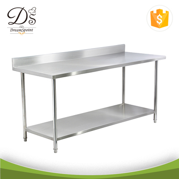 Low Price Commercial Kitchen Stainless Steel Work Table With - Stainless steel work table price