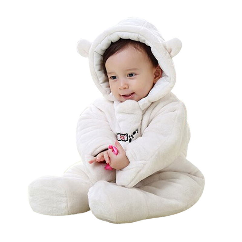 e623fc71fb2e Get Quotations · Winter Coat Out Clothes for Boy and Girl Character Super  Warm Baby Cotton Cloths Snowsuit Infant