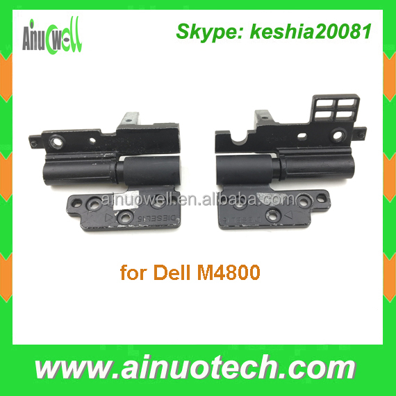 original new notebook lcd hinge for Dell M4800 laptop hinges/bracket /shaft