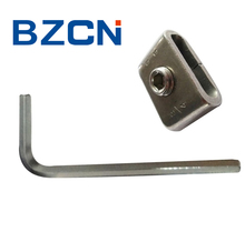 S type screw stainless steel banding buckle with HEX key