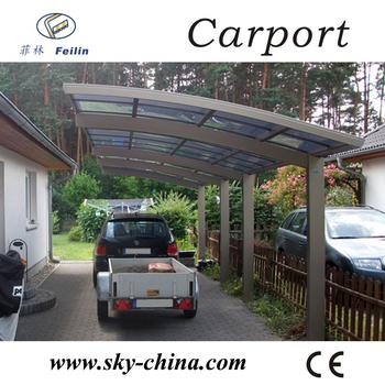 polycarbonate and aluminum carport new model india auto rickshaw