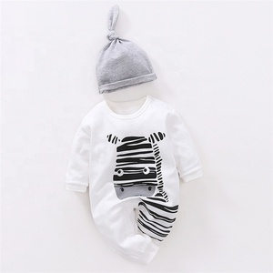 China Wholesale Newborn 100% Cotton Breathable Kids Baby Romper