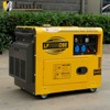 Air Cooled Four Stroke Single Phase 7.5kVA Portable Silent Diesel Generator