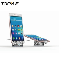 Acrylic cellphone exclusive shop display stand acrylic mobile phone stand
