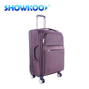6377c8ec72 2016 Comfortable expandable vintage eva trolley bag lightweight president  luggage bag