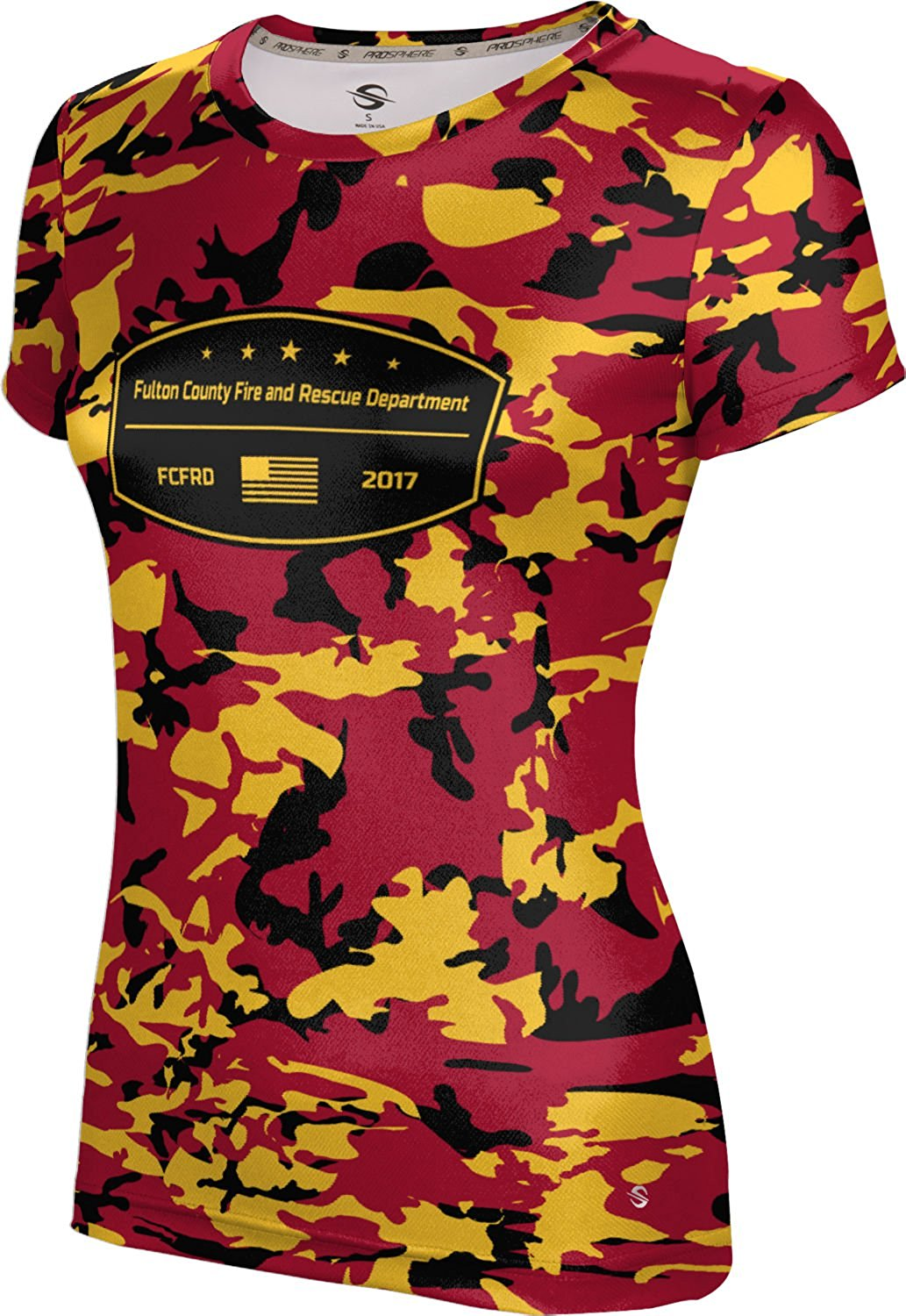 Girls' Fulton County Fire and Rescue Department Fire Department Camo Shirt
