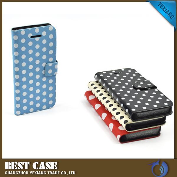 Cheap Price Leather Case Dot View Flip Cover Case For Xiaomi Redmi ...