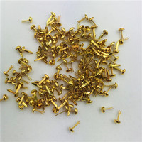 Factory Direct Sale Gold Color Brads Metal Craft Scrapbooking Brads