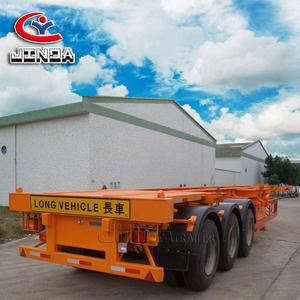 Semi Trailer chassis used for transport container 40ft