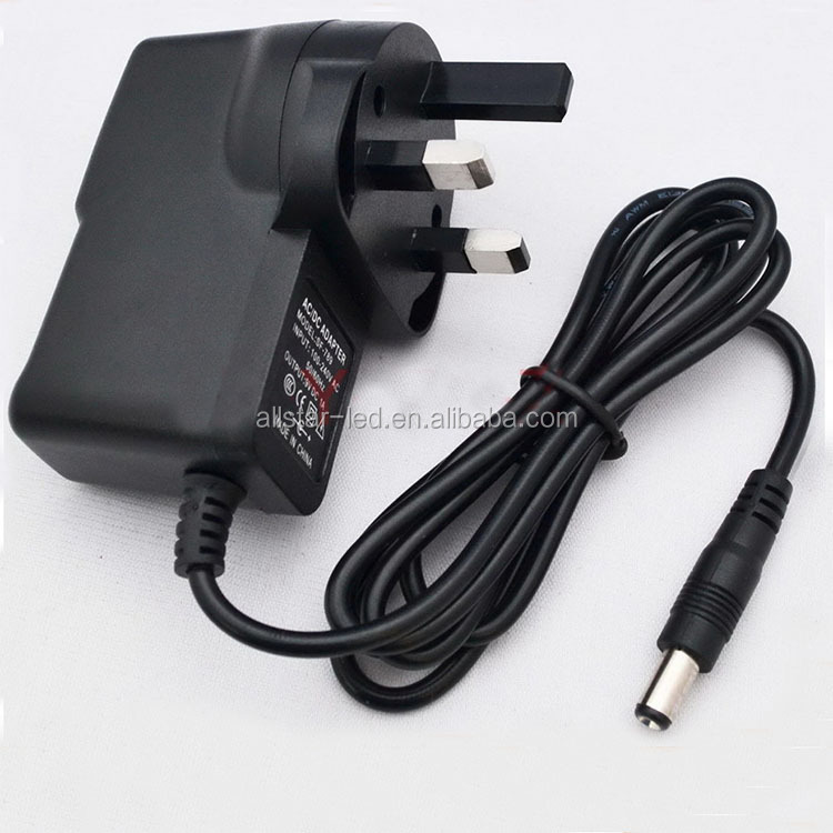 Wall Plug Type dc12/24v Adapter Switching Power Supply 12V 1A adapter with Energy save