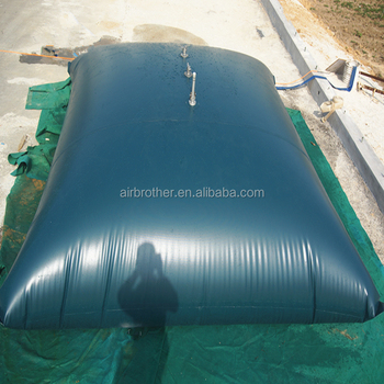 Large Capacity Collapsible Soft Water Storage Bag For Rainfall Collection Tank