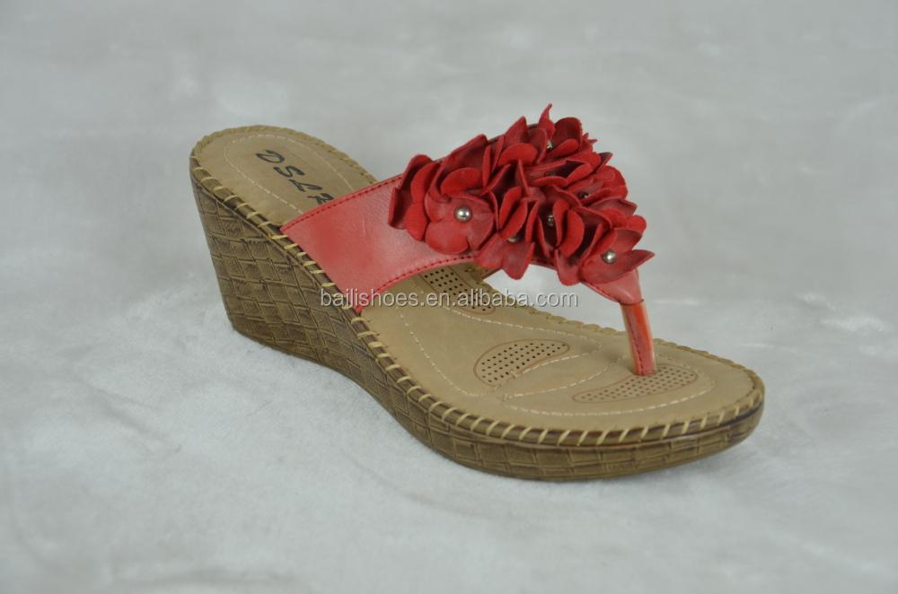 New Design Fashion Ladies Mesh Sandals Comfortable Outsole Slipper ...