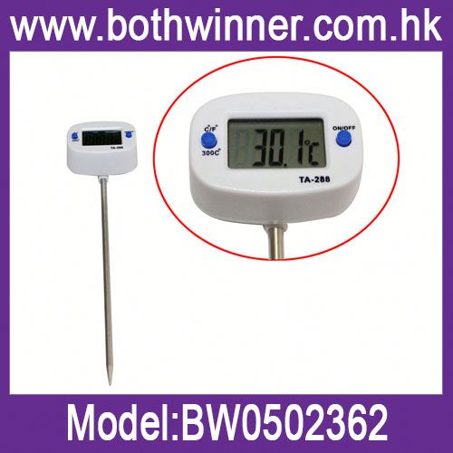 Custom digital thermometer ,h0tLL bbq//kitchen thermometers for sale
