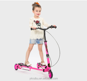 YongKang 21st Scooter Adult Swing Car Foot Scooter New Flicker Child Frog Kick Scooter Wholesale