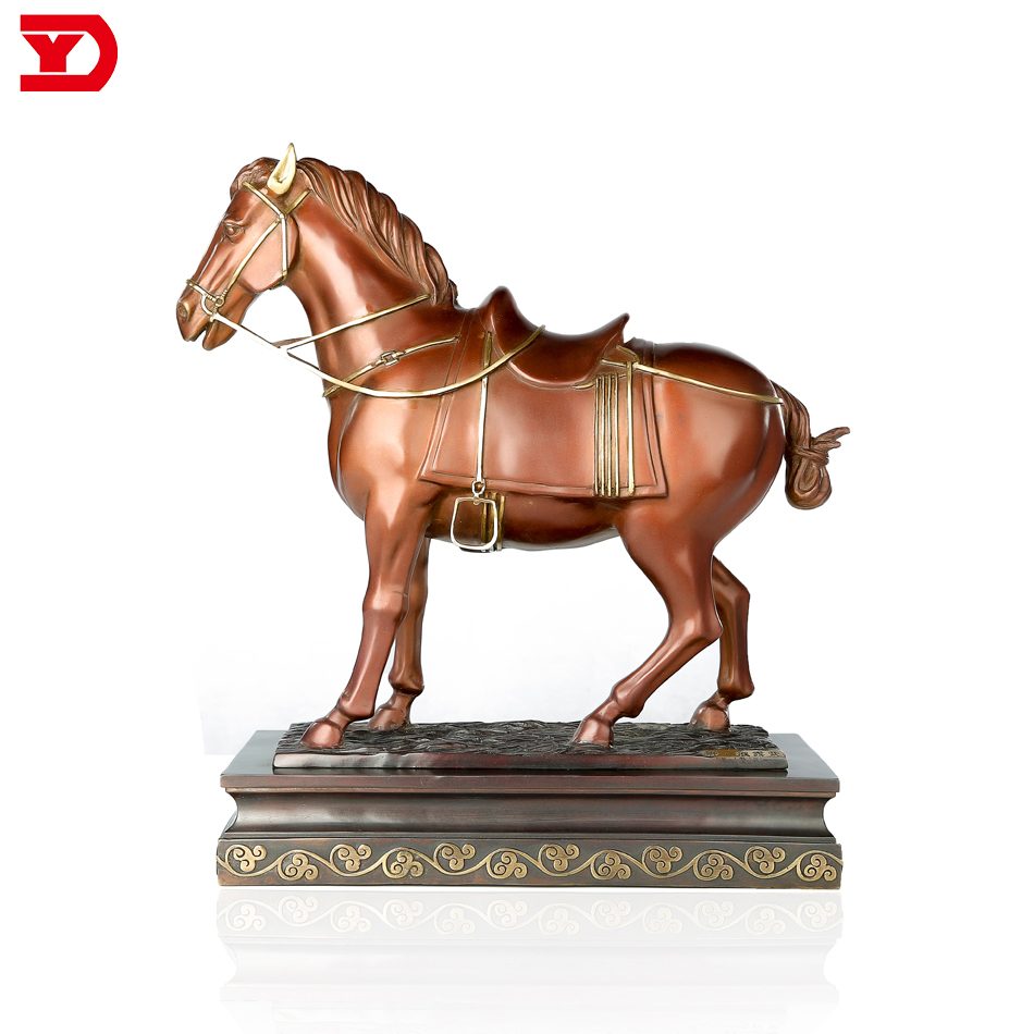 Hot Antique Style Tang Dynasty Bronze Horse Sculpture