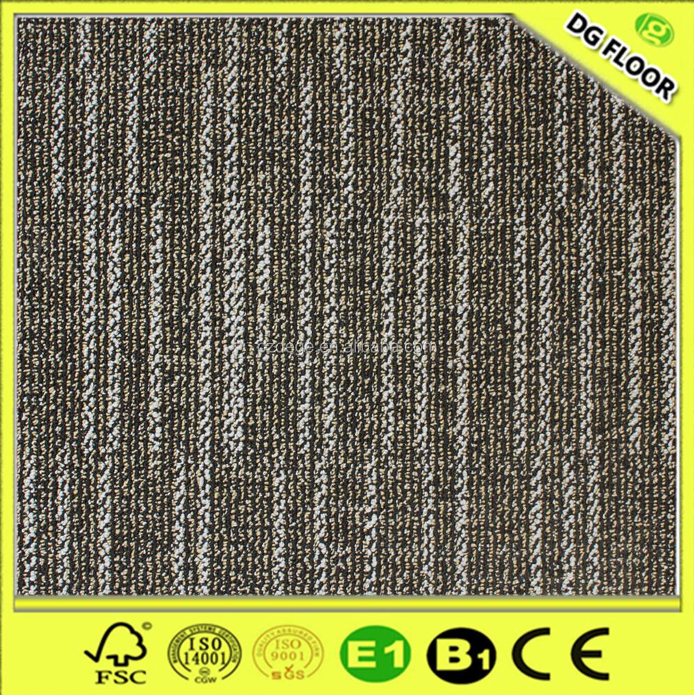 Rubber Backing Commercial Carpet Tiles