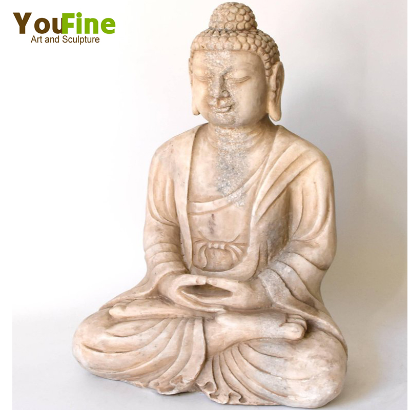 white marble buddha statue for sales