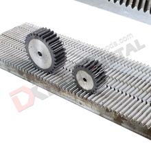 M1 M1.5 M2 M2.5 M3 M4 M5 M6 M8 CNC Steel Pinion And Gear Rack