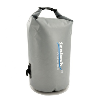 Waterproof floating dry bag with shoulder straps for boating and swimming