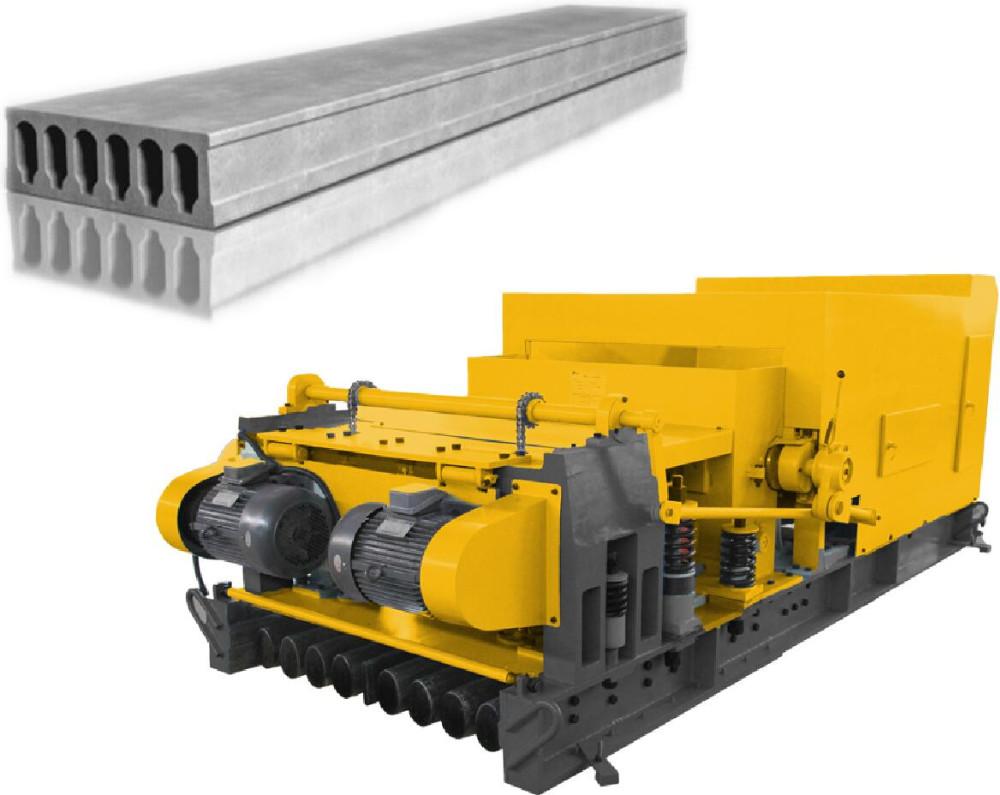 Precast concrete hollow slab making machine/large span slabprecast