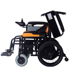 double motor wheelchair Aluminum Alloy Stainless Steel frame wheelchair reclining portable light weight wheelchair