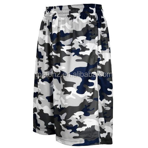 Reversible benutzerdefinierte Basketball-Shorts