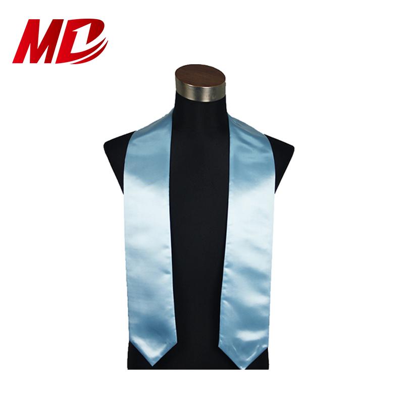 high quality kindergarten graduation scarf plain stole