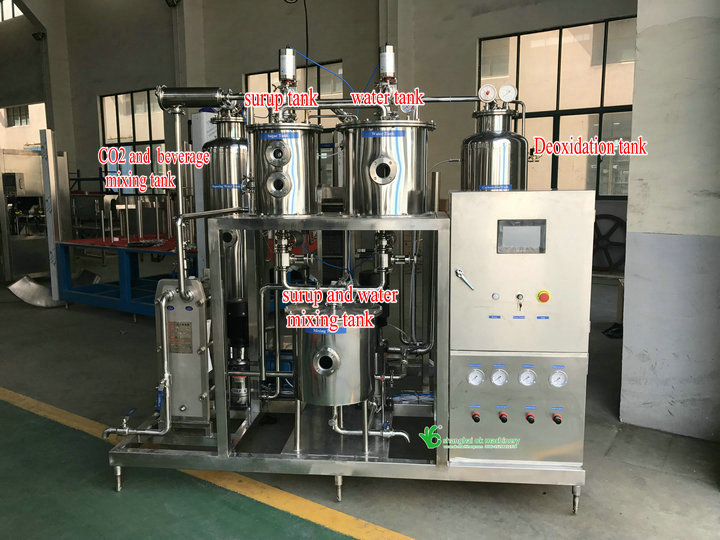 shanghai 3 in 1 carbonated soft drink filling machine