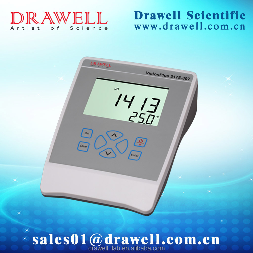 DRAWELL BRAND table model Conductivity Meter